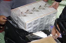 Bắt quả tang vụ vận chuyển gần 3.000 bao thuốc lá nhập lậu
