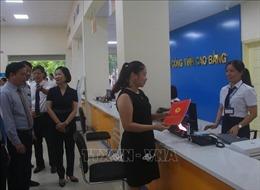Khai trương Trung tâm phục vụ hành chính công tỉnh Cao Bằng
