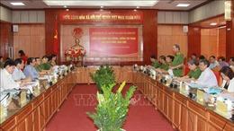 Đoàn công tác Ban Chỉ đạo 138 của Chính phủ làm việc tại tỉnh Lạng Sơn