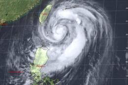 Cảnh báo bão Mitag đổ bộ trong đêm gây mưa to diện rộng