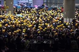 Hong Kong ban hành Lệnh cấm che mặt trong các cuộc biểu tình trái phép