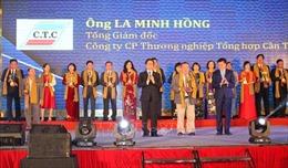 """27 doanh nghiệp Đồng bằng sông Cửu Long được trao danh hiệu """"Cánh sếu vàng"""""""