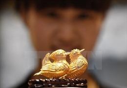 Giá vàng giảm trên thị trường châu Á