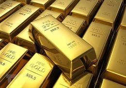 Giá vàng thế giới tăng lên mức 'đỉnh'trong ba tuần