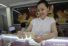 Giá vàng trong nước giảm nhẹ phiên đầu tuần