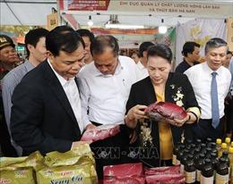 Khai mạc Hội chợ làng nghề lần thứ 15 và sản phẩm OCOP Việt Nam 2019