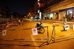 Phân luồng giao thông phố Quốc Tử Giám để thi công ga ngầm