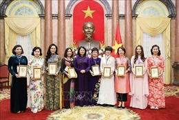 Phó Chủ tịch nước Đặng Thị Ngọc Thịnh tiếp đoàn đại biểu nữ doanh nhân
