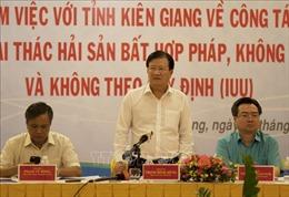 Phó Thủ tướng Chính phủ Trịnh Đình Dũng: Phải chấm dứt ngay tình trạng khai thác hải sản bất hợp pháp
