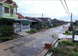 Người dân vùng lũ dọc sông Ba ổn định cuộc sống sau tái định cư