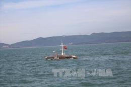 Cứu 12 ngư dân tàu cá bị chìm ở khu vực đảo Đá Tây