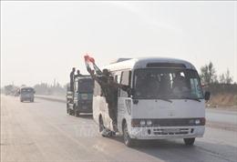 Lực lượng người Kurd bắt đầu rút khỏi khu vực biên giới Thổ Nhĩ Kỳ