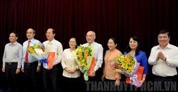 Ban Bí thư chuẩn y 3 Ủy viên Ban Thường vụ Thành ủy TP Hồ Chí Minh