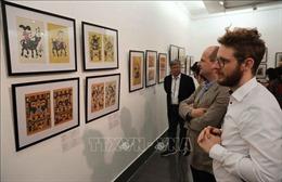 Khai mạc triển lãm 'Tranh dân gian Đông Hồ xưa và nay'