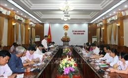 Đoàn kiểm tra của Ủy ban Dân tộc làm việc tại Bình Định