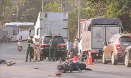 Ba ô tô va chạm liên hoàn, một người bị thương nặng