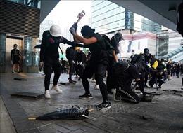 Hong Kong (Trung Quốc) lên án hành động biểu tình phá hoại trật tự công cộng