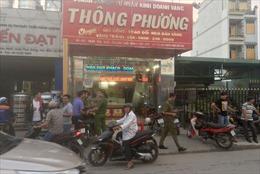 Điều tra vụ nghi dùng súng cướp tiệm vàng ở Hóc Môn, TP Hồ Chí Minh