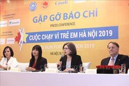 Cuộc chạy vì trẻ em Hà Nội 2019