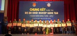Giải Nhất cuộc thi khởi nghiệp sáng tạo thanh niên nông thôn thuộc về dự án 'Bột rau sấy lạnh'