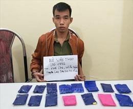 Bắt giữ một đối tượng, thu 2.580 viên ma túy tổng hợp