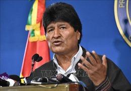 Tổng thống vừa từ chức E. Morales cáo buộc lệnh bắt giữ ông là trái phép
