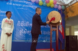 Trường tiểu học của trẻ em gốc Việt hướng mục tiêu hội nhập vào trường công lập Campuchia