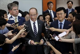 Hội nghị Cấp cao ASEAN 35: Quan chức ngoại giao cấp cao Hàn - Mỹ hội đàm