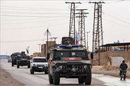 Thổ Nhĩ Kỳ và Nga bắt đầu tuần tra chung tại miền Bắc Syria