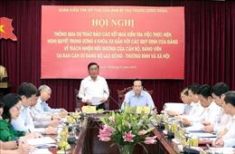 Bộ Lao động - Thương binh và Xã hội đẩy mạnh thực hiện quy định về trách nhiệm nêu gương