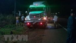 Bình Phước: Xe container tông xe máy, một thanh niên tử vong tại chỗ