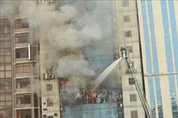Hỏa hoạn làm 26 người thiệt mạng: Bangladesh bắt giữ các chủ sở hữu tòa nhà FR Tower