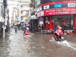 Mưa bão trên diện rộng, nhiều khu vực ở Bạc Liêu chìm trong 'biển nước'