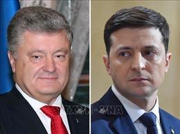 Bầu cử tổng thống Ukraine: Hai ứng cử viên vòng hai tranh luận trực tiếp