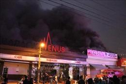 Hải Phòng: Kịp thời dập tắt đám cháy lớn tại quán Karaoke