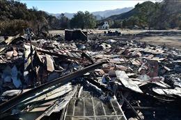 Phát hiện nước uống nhiễm chất gây ung thư sau vụ cháy rừng ở California