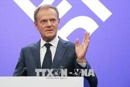 Hội đồng châu Âu đề xuất Anh có thể rời EU vào đầu tháng 7