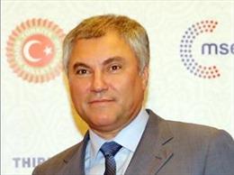 Chủ tịch Duma Quốc gia Liên bang Nga sắp thăm chính thức Việt Nam