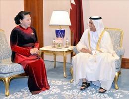 Chủ tịch Quốc hội: Quan hệ Việt Nam - Qatar tốt đẹp trên tất cả lĩnh vực
