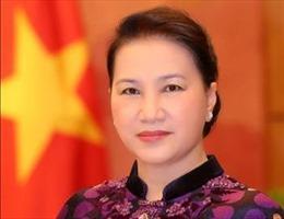 Chủ tịch Quốc hội Nguyễn Thị Kim Ngân gặp Chủ tịch Quốc hội Liên bang Micronesia