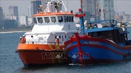 Cứu thành công 7 thuyền viên tàu cá bị nạn ở khu vực phía Nam Vịnh Bắc Bộ