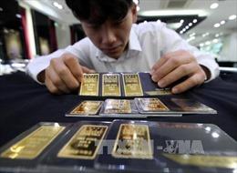 Giá vàng thế giới leo lên mức cao nhất trong hơn một tuần