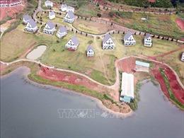 Yêu cầu xử lý dứt điểm vi phạm đất đai trong Khu Du lịch Hồ Tuyền Lâm