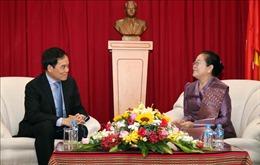 Lãnh đạo TP Hồ Chí Minh chúc Tết Bunpimay của Lào