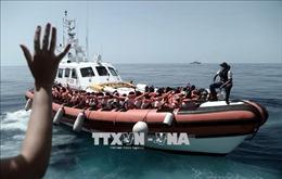 Mười tám người di cư chết và mất tích ngoài khơi bờ biển Libya