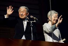 Nhà Vua và Hoàng hậu Nhật Bản kỷ niệm đám cưới kim cương