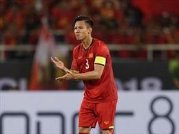 AFF Suzuki Cup 2018: Quế Ngọc Hải - Bức tường thành chắc chắn của đội tuyển Việt Nam