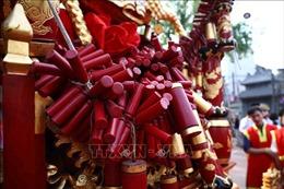 Đặc sắc lễ hội rước pháo Đồng Kỵ