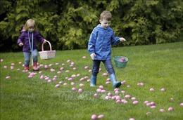 Thú vui 'săn lùng' trứng Phục Sinh