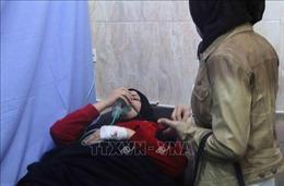 Máy bay không người lái tấn công hóa học nhằm vào quân chính phủ Syria